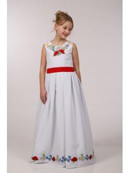 Вишите плаття для причастя ПГ 23
