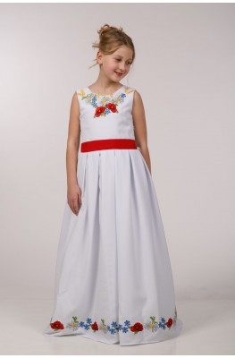 Нарядное платье для обряда причастия ПГ 23