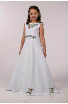 Вишита сукня для причастя ПГ 24