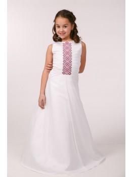 Сукня вишита для причастя ПС 12