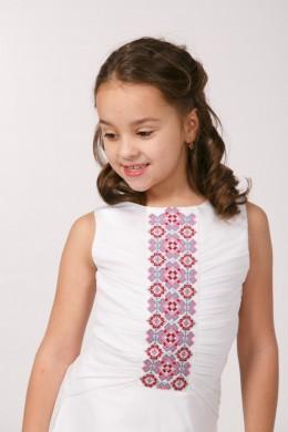 Сукня вишита для причастя ПС 12 фото