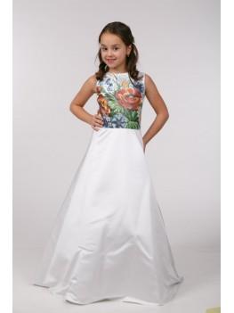 Заготовка для вишивки бісером дитячого плаття ПБ36