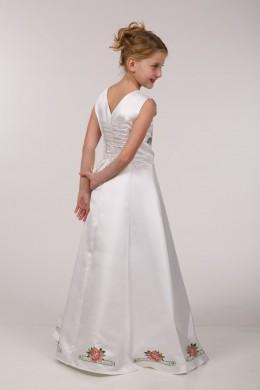 Заготовка для вышивки платья бисером ПБ41 фото