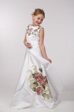 Заготовка платья для вышивки бисером ПБ43 фото