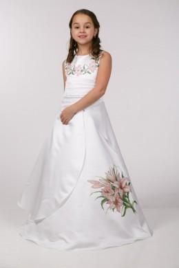 Платье под вышивку бисером ПБ46 фото