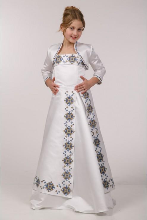 Плаття з вишивкою під замовлення ПА08 – купити в Києві 15fab032c33b4