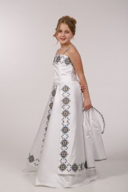 Плаття з вишивкою під замовлення ПА08 фото