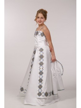 Плаття з вишивкою під замовлення ПА08