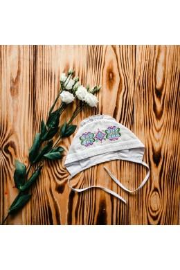 Для девочки шапочка для крещения ХП 06 фото