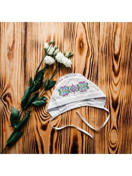 Для девочки шапочка для крещения ХП 06