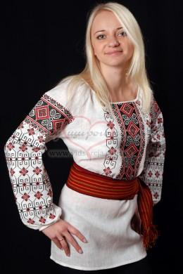 Вишиванка сорочка Червоне та чорне 34