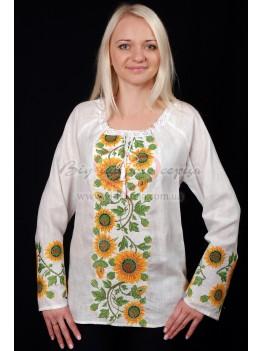 Сорочка жіноча вишита Соняхи 26
