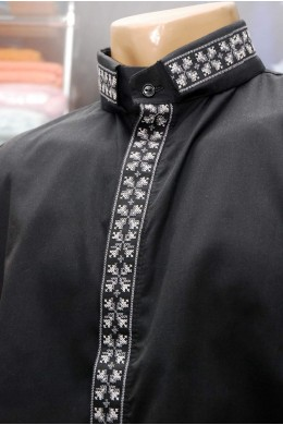 Рубашка вышитая для священника 1004 фото