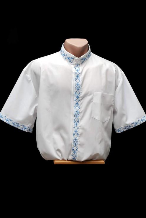 Вышитая свящанича рубашка 1006 фото