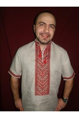 Сорочка етнічна чоловіча 015 фото