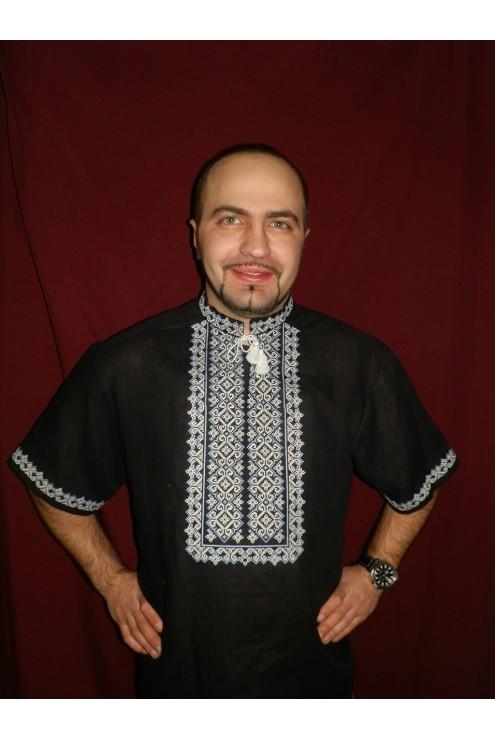 Чоловіча сорочка вишиванка 020 фото