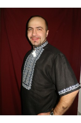 Мужская рубашка вышиванка 020