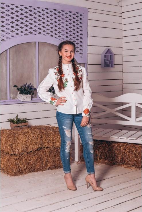 Вишита блузка підліткова 06 – купити в Києві 54decd3a639c5
