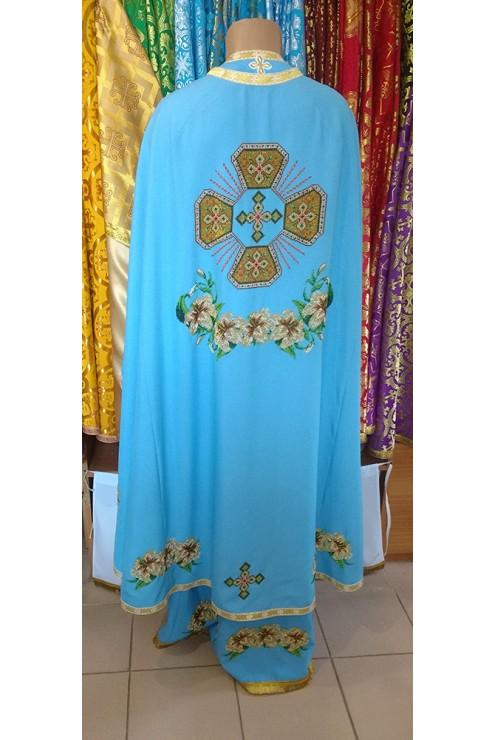 Фелон для священнослужителя з ручною вишивкою ФБ-1807