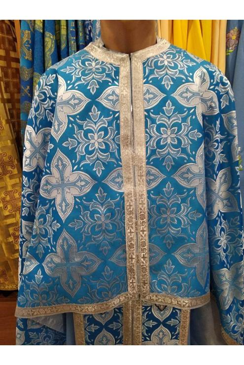 Фелон 72 голубий в сріблі
