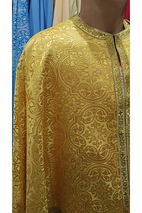 Фелон Ф 75 жовтий з золотом