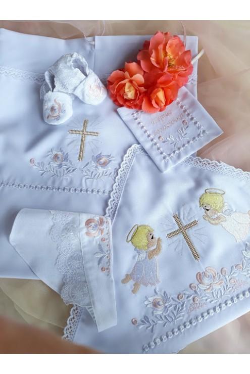 Набір для хрещення дівчинки ХП 2003