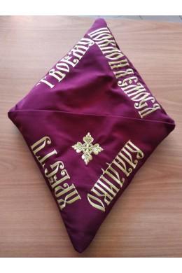 Подушка для освячення хреста габардин 20