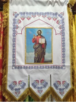 Хуругви вишиті хрестиком1931 білі