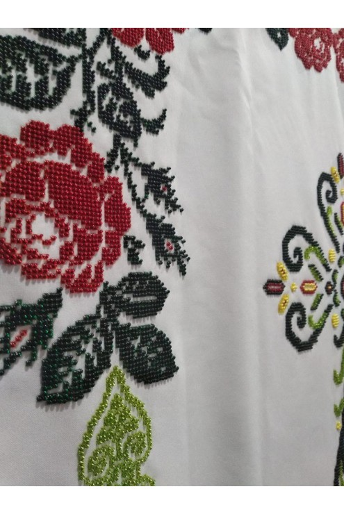 Хуругви вишиті бісером троянди РХ 01